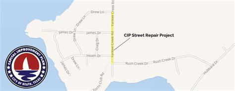 cip update yankee creek construction city of heath tx