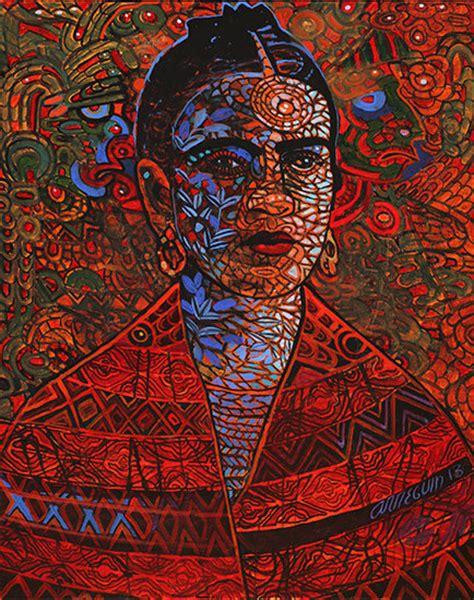 pattern art on canvas alfredo arregu 237 n s palpitations of color and light
