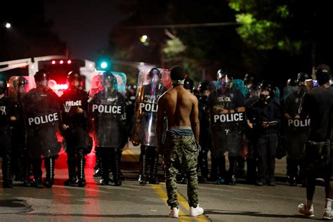 map st louis riots protests turn in st louis after white former