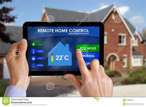 remote home stock image image 31820301