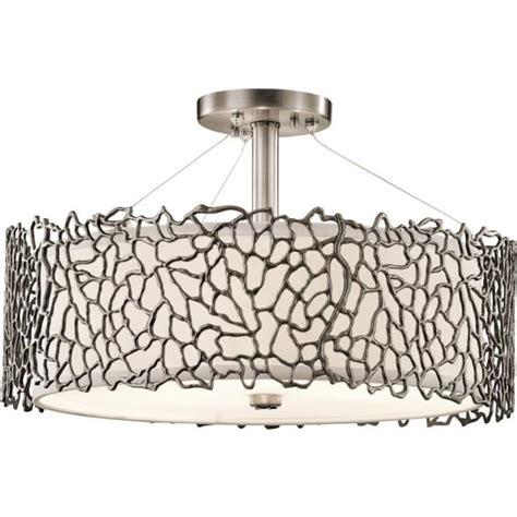 semi flush pendant ceiling light dual mount ceiling light for high or low ceilings in