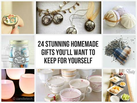 How To Make Handmade Gifts At Home - 24 stunning gifts you ll want to keep for yourself