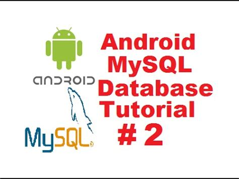 tutorial android mysql pdf android mysql database tutorial 2 android login with php