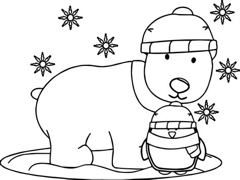 91 winter coloring pages penguin coloring pictures