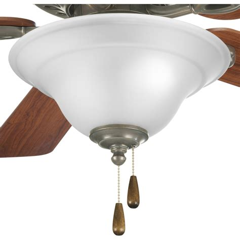 progress lighting p2628 20 trinity ceiling fan light kit