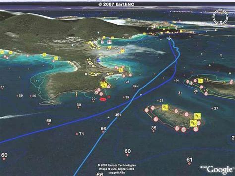 google maps boat navigation google earth gps for cruisers boat owners followtheboat
