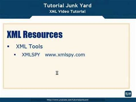 tutorial about xml xml tutorial 74 xml resources youtube