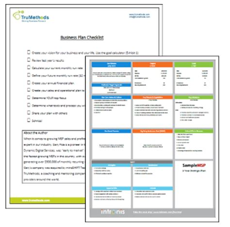 barracuda msp it service provider business plan template