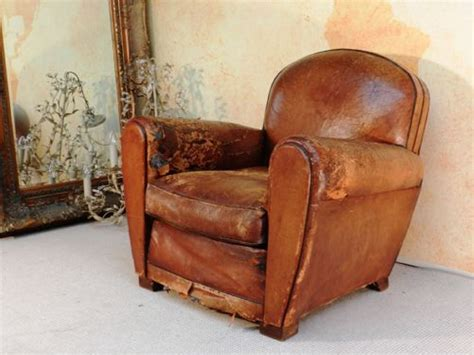 old recliner distressed leather chair modern chairs quality interior 2017