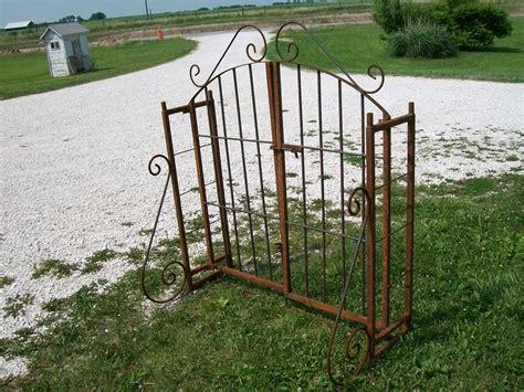Iron Garden Arbor Gate Wrought Iron Garden Arch Gate Combination Arbor Trellis