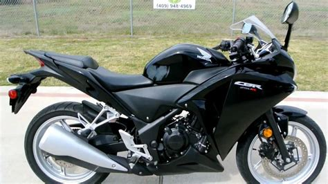 honda cbr 250cc 2011 honda cbr250r in black overview and review youtube