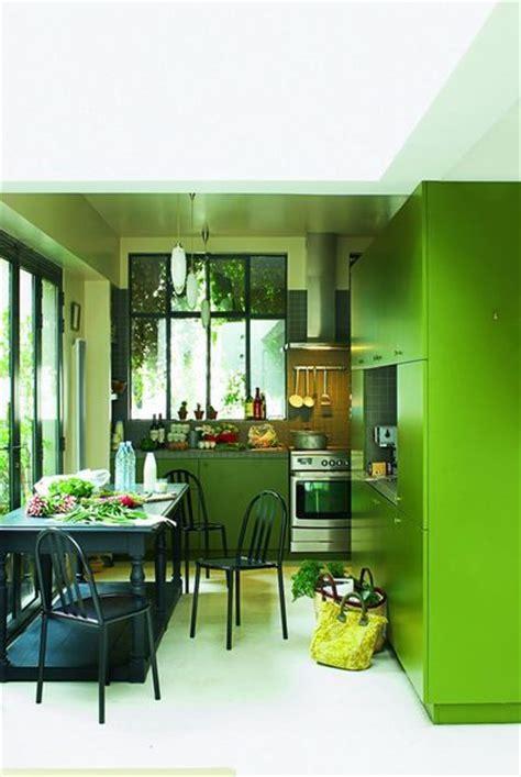 cuisine mur vert pomme couleur dans la cuisine osez le vert pomme vert gazon