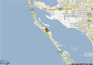 map longboat key florida map of resortquest cabana club longboat key