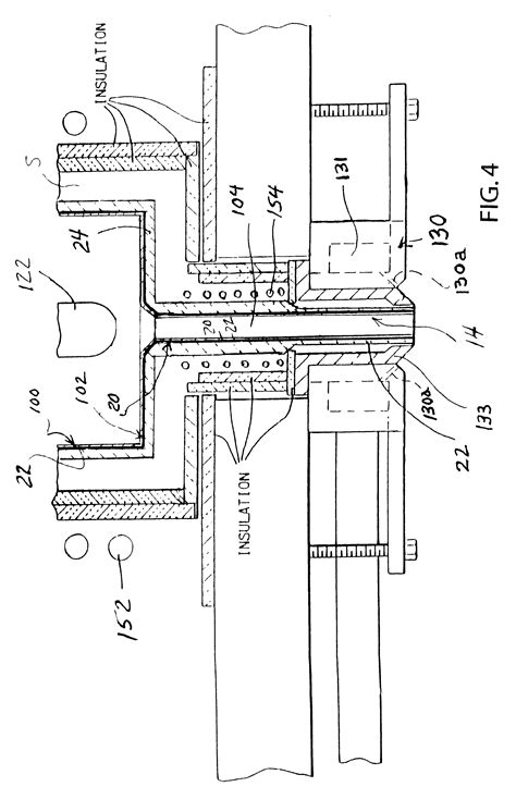 patent sections patent us6425504 one piece composite crucible with