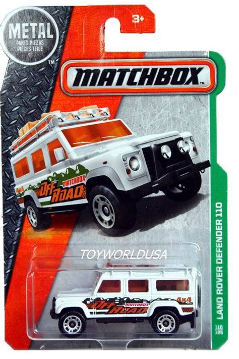 matchbox land rover defender 110 2016 2016 matchbox 110 mbx explorers land rover defender 110
