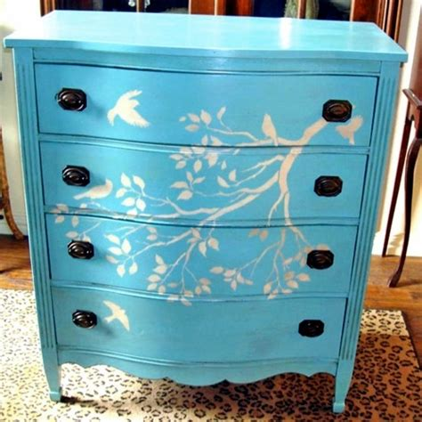 Painted Dresser Designs by Diy Decorating Ideas For Painted Furniture Interior