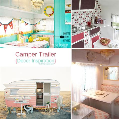 travel trailer decorating ideas decorating travel trailer ideas autos post