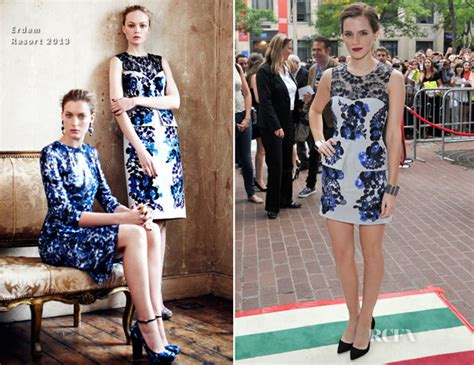 emma watson toronto film festival emma watson in erdem the perk of being a wallflower