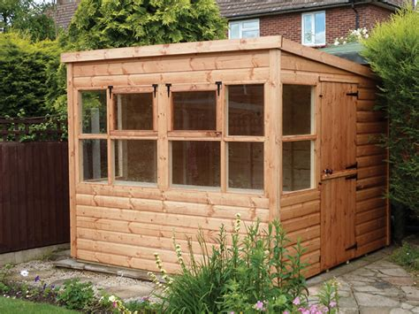 Pent Potting Shed by Pent Potting Shed Supplying Sheds Garden Buildings To