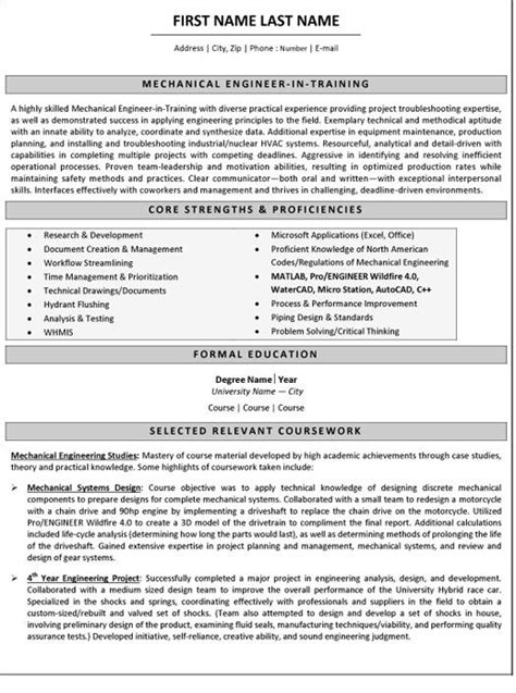 resume for a mechanical engineer free download mechanical