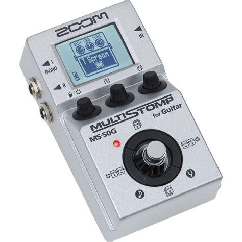 Zoom Multistomp zoom ms 50g multistomp guitar pedal zms 50g b h photo