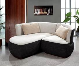 Compact Sectional Sofa 0622 Modern Compact Fabric Sectional Sofa