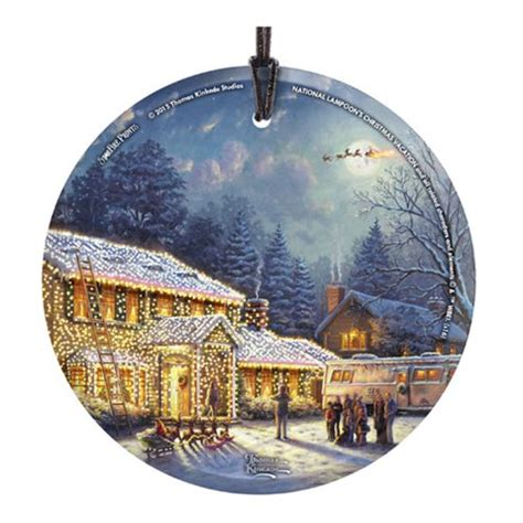 national loons christmas vacation thomas kinkade ornament