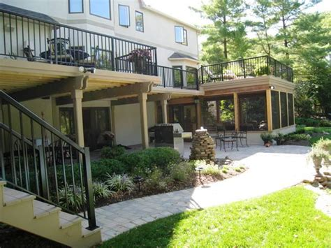 backyard porches and decks screen porches columbus oh columbus decks porches and