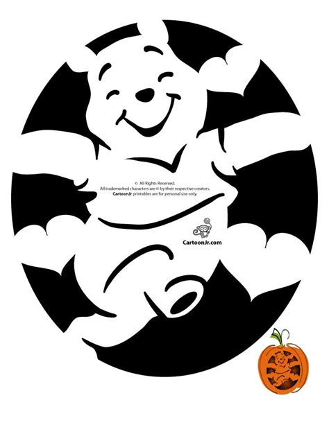 Winnie The Pooh Pumpkin Carving Templates best 25 pumpkin stencil ideas only on