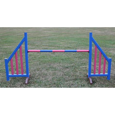 agility jumps agility picket wing set 174 kennel club uka jumps