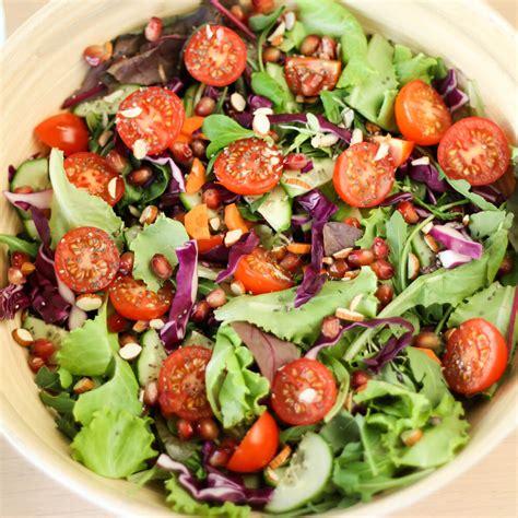 vegetables or salad vegetable salad vegan rainbow my weekend kitchen