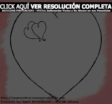 imagenes de corazones hermosos y grandes simp 225 ticos dibujos para colorear de corazones grandes