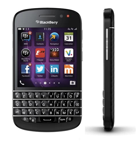 bb q10 prise en du blackberry q10
