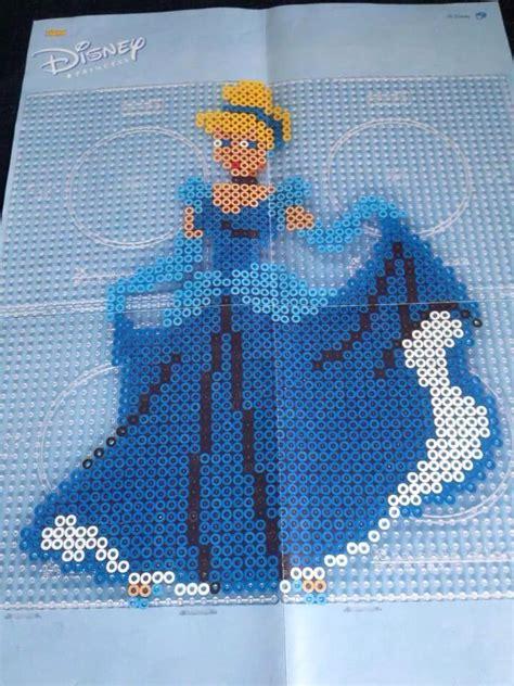 cinderella hama 439 best images about disney prinsesser perleplader on