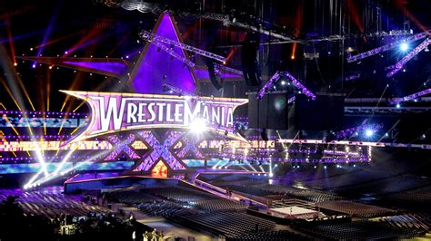 pwtorch com pic new wwe house show set wwe bringing wrestlemania back to new orleans in 2018