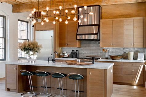 Huniford Design Studio Holiday House Htons 2014 Modern Kitchen Island Lights