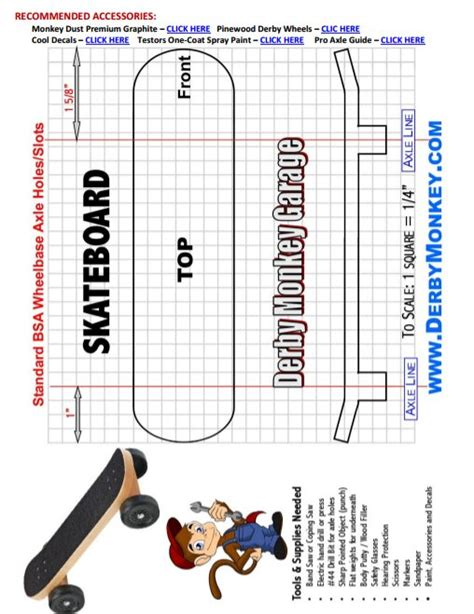 27 awesome pinewood derby templates free sle