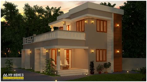 low budget kerala villa home design floor plans building small budget house plan in kerala