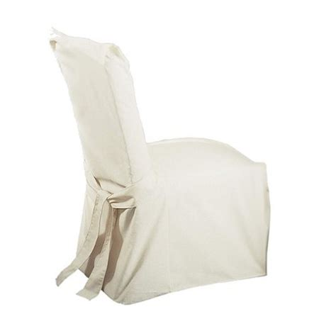 cotton duck covers cotton duck dining room chair slipcover sure fit