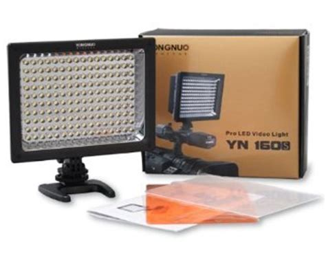 about prices of yongnuo pro led video studio light yn 160s