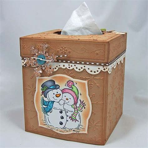 Tissue Paper Box Craft - tissue box cover by cookiester cards and paper crafts