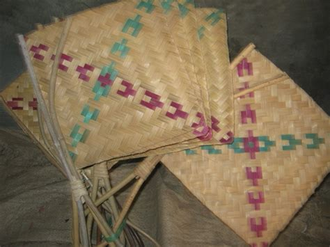 Kipas Angin Gede kerajinan bambu sidigede maret 2012