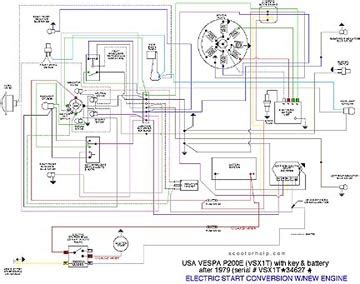 vespa px wiring diagram marvellous p200 wiring diagram pictures best image wire