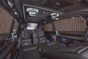 Mercedes With Interior Mercedes Viano Fitted With Luxurious Custom Interior