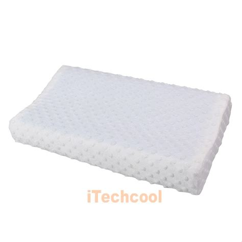 back support pillows for bed memory foam pillow orthopedic head neck back support gel