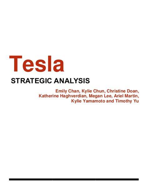 tesla marketing plan slideshare tesla report pdf