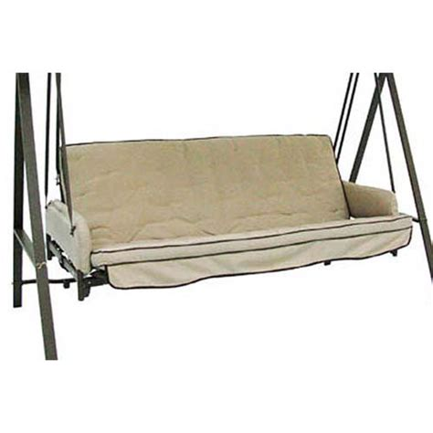 swing cushions home depot 3 person futon swing costco