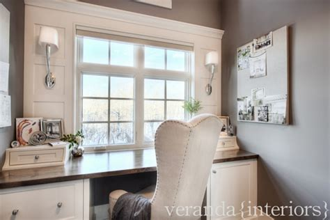 veranda interiors built in desk transitional den library office veranda