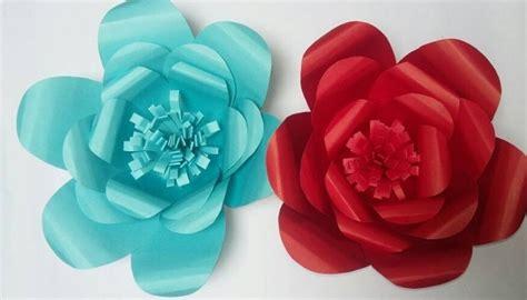 imagenes de flores grandes de papel flores grandes de papel manualidades