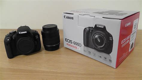canon 600d canon 600d rebel t3i unboxing look 18 55mm lens
